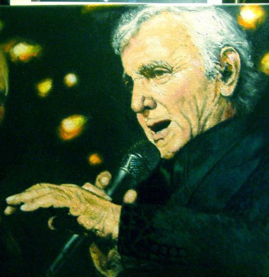 Charles Aznavour par Marechaltristan